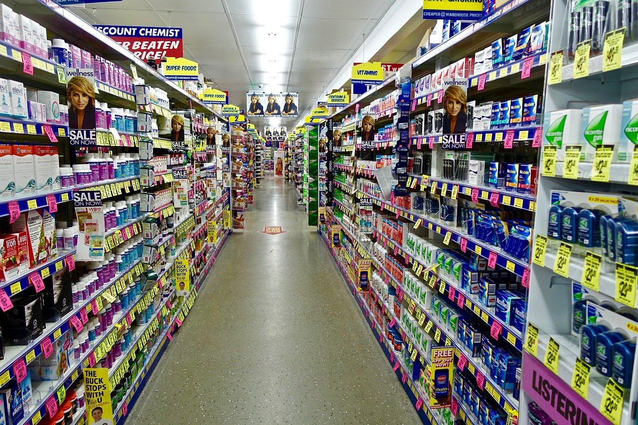 Rayon de pharmacie